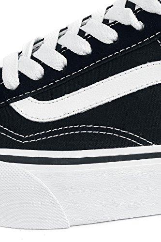 vans old skool platform zapatillas de entrenamiento para mujer