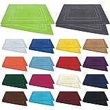 Badvorleger / Badematten / Badteppich - 2er Pack - Baumwolle 800g/m² - 50x80 cm - Farbe Gelb