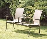 Havana Duo Seat - Bronze