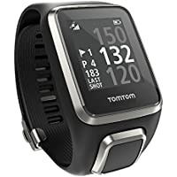 TomTom 1REG.001.00 Golfer 2 Large Golf Sat Nav/GLONASS Watch USB charging cable - Black