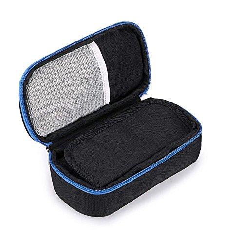 Vianber Tragbare Insulin-Organisator-Kühltasche, Medizinische Sorgfalt-Schutz-Kasten-Reise-Kühltasche für die Diabetiker-Einspritzungen (Schwarz)