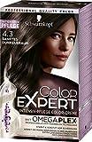 Schwarzkopf Color Expert Intensiv-Pflege Color-Creme 4.3 Sanftes Dunkelbraun, 3er Pack (3 x 167 ml)