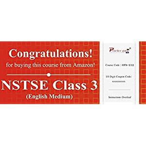30 Topic Wise tests For NSTSE Class 3 [Download: Registration Code]