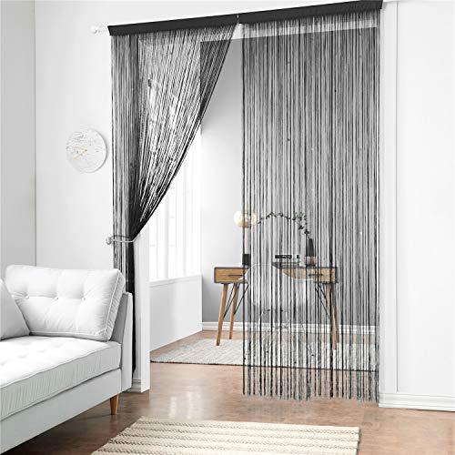 Taiyuhomes Cute espaguetis cortina panel