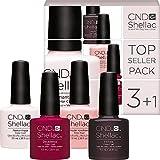 CND Shellac Farben Set - TOPSELLER PACK 3 - 4 Farben zum Preis von 3