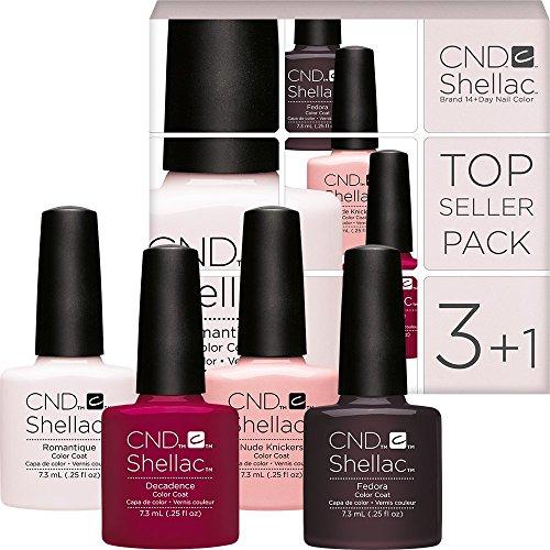 CND Shellac Colores Set–TopSeller Pack 3–4colores por el precio de 3