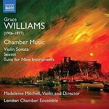 Williams: Chamber Music [Madeleine Mitchell; London Chamber Ensemble; Madeleine Mitchell] [Naxos: 8571380]