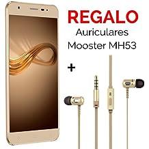 "Telefono Movil Smartphone Elephone A1 Dorado 5"" / 8Gb Rom / 1Gb Ram / 5Mpx-2Mpx / Quad Core."