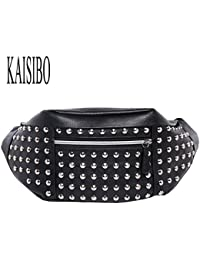 Buyworld Kaisibo 2017 New Waist Packs Fanny Pack Fashion Travel Waist Bags Pu Belt Bag Men Chest Bags Male Bag...