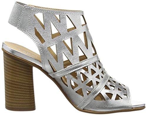 Carvela  KUPID,  Damen Sandalen Silberfarben