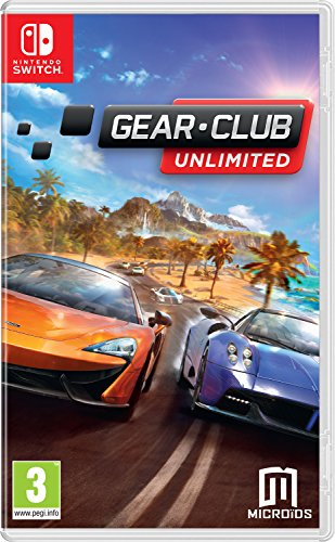 Gear. Club Unlimited - Nintendo Switch [Edizione: Regno Unito]