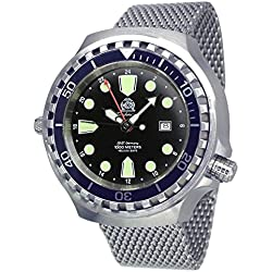 Big size diver watch - 24h automatic movement Milanaise strap T0266MIL
