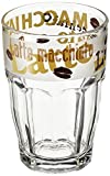 Bormioli Rocco Happy Hours Latte Macchiato Kaffeeglas 370ml, gehärtetes Glas, 6 Stück