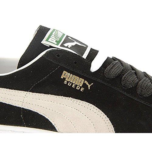 Puma Suede Classic Sneakers Herrenschuhe BLACK-WHITE
