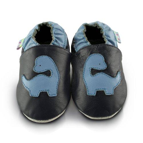 snuggle-feet-chaussons-bebe-en-cuir-doux-dinosaure-bleu-18-24-mois