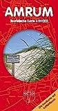 Amrum - Touristische Karte: Landkarte auf Luftbildbasis mit Ortsplänen und Inselbeschreibung. 1:20.000