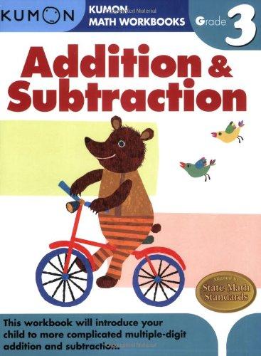Kumon, Addition & Subtraction: Grade 3 par Publishing Kumon