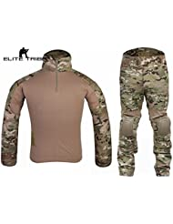 Homme Tenues de Combat Chasse Unifome Militaire Gen2 tactique Uniforme Multicam MC