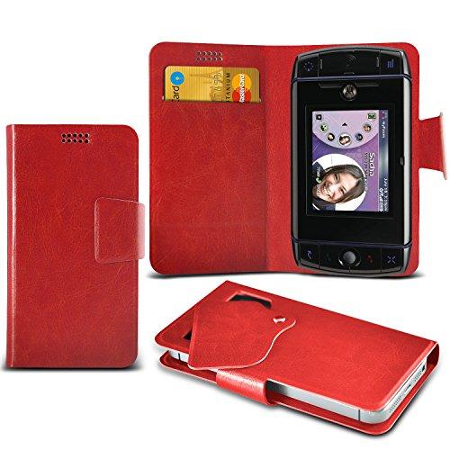 red-t-mobile-sidekick-slide-etui-mega-de-protection-fine-imitation-cuir-ventouse-wallet-cas-couvrir-