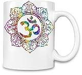 Om Symbol Trippy Kaffee Becher