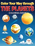 Color Your Way Through the Planets Coloring Book