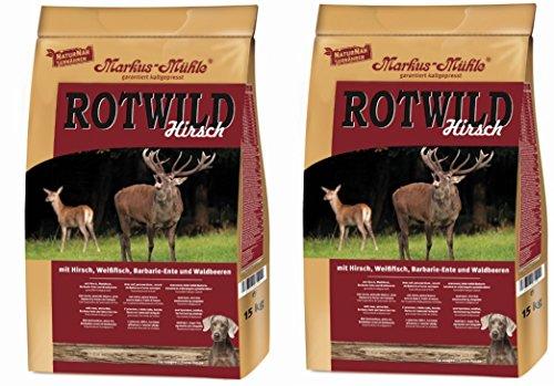 Markus-Mühle ROTWILD Hirsch (2x15kg)