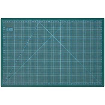 900 x 600 mm UESTA A1 Tappetino da Taglio 5 Strati PVC Cutting Mat Tappetini Per Taglio Verde