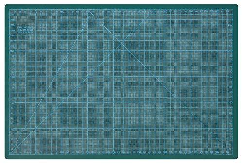 Wedo 79145 Schneideunterlage Cutting Mat A3 (CM 45 selbstschließende Oberfläche, 45 x 30 x 0,3 cm) grün