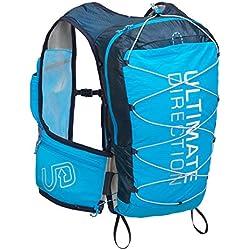 Ultimate Direction montaña Chaleco V4 HOMBRE CORRER Hidratación Chaleco Azul - Azul, Large
