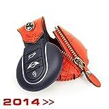 Schlüsseltasche rund, Orange, 2014>>