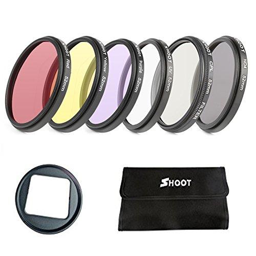D & F Unterwasser Filter Lens Kit für GoPro Hero 3 +, Hero 4 Farben für, Underwater Video und photography- 6 Pack