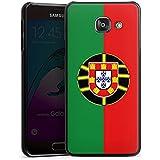 Samsung Galaxy A3 (2016) Housse Étui Protection Coque Portugal Drapeau Ballon de football