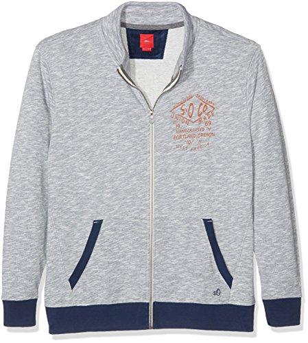 s.Oliver Big Size Herren Sweatshirts 15.610.43.6596, Blau (Medieval 58w0 Blau), XXXXX-Large