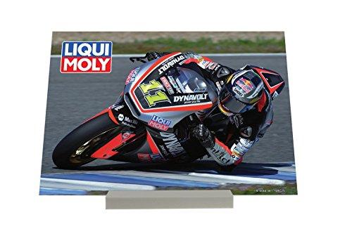 Cadre Photo Retro Déco Liqui Moly Course de motos Publicité Piastra