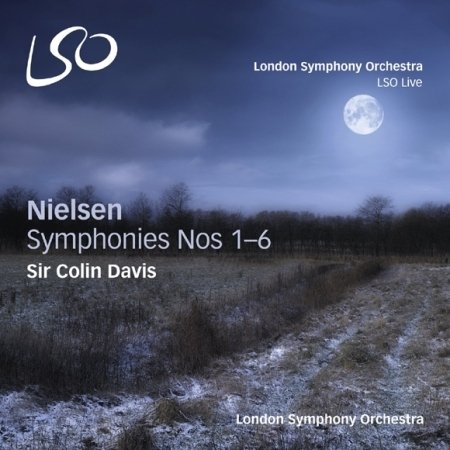 Nielsen - Symphonies Nos.1~6 [3 Hybrid Sacds & 1 Bluray Audio Disc]