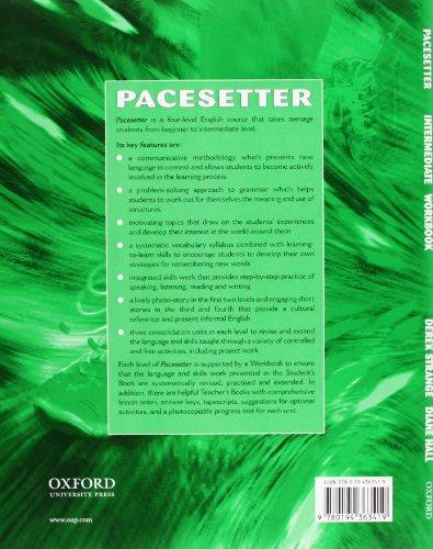 Pacesetter Intermediate: Workbook: Workbook Intermediate level