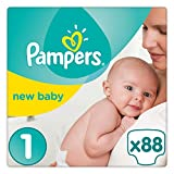 Pampers - Premium Protection - Couches Taille 3 (5-9 Kg) - Pack Géant (x50 couches)- lot de 2