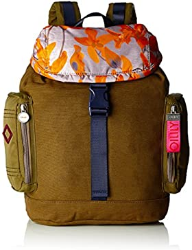 Oilily Damen Whoopy Backpack Lvf Rucksack, Braun (Mud), 16.5 x 44 x 30 cm