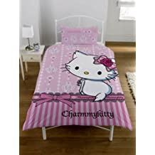 Lenzuola Di Hello Kitty.Lenzuola Hello Kitty Amazon It