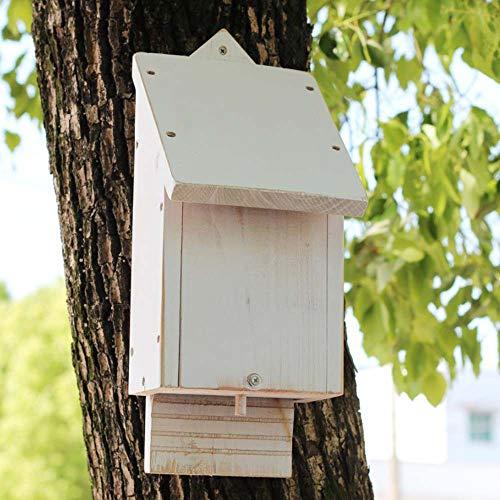 SuyunPP Insektenhaus/Kiefer-Schmetterlingsfledermaus-Schutzhütte/Insektenhotel/Hofgarten