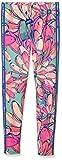 adidas Damen Leggings Bananas 3-Stripes, Multicolor, 34