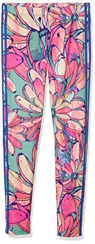 Legging Adidas pour femme - Motif 3 bandes 40 multicolore