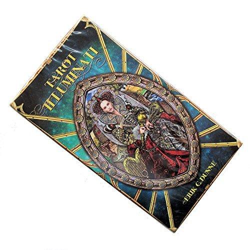 Baraja Illuminati Tarot -The Light Within por Erik C Dunne, Mazo de 78