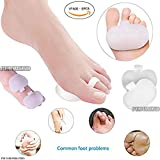 pedimendtm Weich Silikon Gel Mittelfußpolster mit Zehenschlaufe | Ball der Fuß Kissen für Fuß Schmerzlinderung | Pad für Morton-Neuralgie | verbessern Balance | absorbiert Stoß- und Vibrationen | Unisex | Foot Care