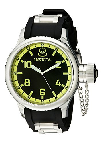 Invicta Men's Black Rubber Analogue Watch - 1433 image