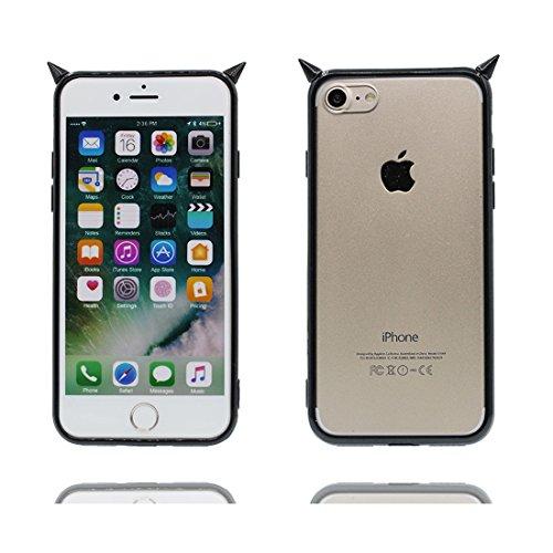 iPhone 6 Plus Copertura Cover, Durevole Shell TPU per le ragazze iPhone 6 Plus / 6S Plus Custodia Case 5.5 A prova di polvere - vulcanico # 7