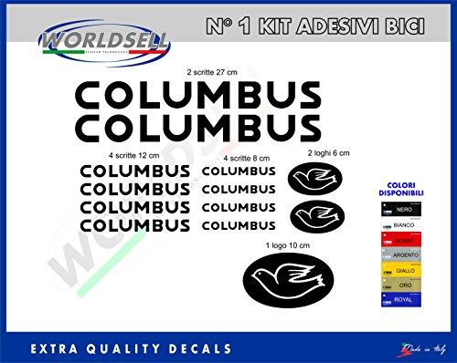 KIT 18 ADESIVI GIANT ''Columbus'' (NERO)