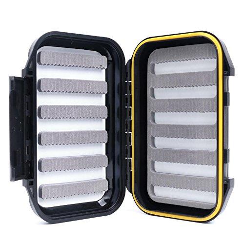 Maxcatch OR Fliegenbox Fliegendose Wasserdicht Tragbar Design für große Fliegen (Slit Foam)