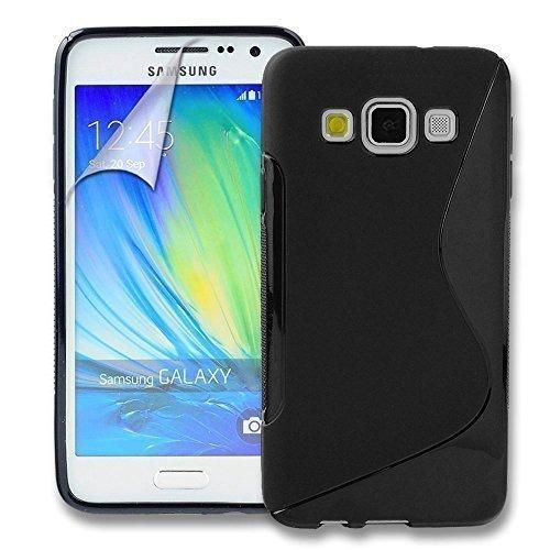Connect Zone Samsung Galaxy A3 (2016) haute qualité PU étui rabat portefeuille cuir Pochette + Protège Écran + Chiffon De Polissage Et Stylet D'ecran Tactile