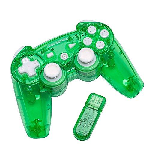 PS3 Wireless Controller Rock Candy - grün (Wireless Controller Ps3 Grün)